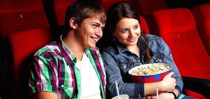 2 билета по цене 1 на любой фильм в любой день недели в кинотеатре «Юбилейный»