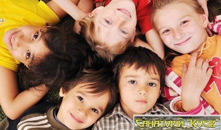 Детская путевка на 21 день в специализированный санаторий «Косов» МОЗ Украины! 3-х разовое питание, оздоровительные процедуры, минеральные ванны, солевая шахта, массаж и многое другое!