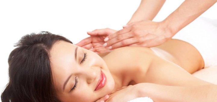 Скидка до 58% на массаж спины и ШВЗ с УЗ массажем и светотерапией в «Клинике Валерии Богатовой»