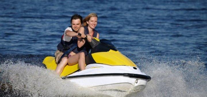 5 или 10 минут проката гидроцикла на пляже «Bora Bora» от «Aqua Drive»