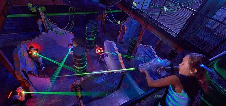 До 60 минут игры в лазертаг в сети лазертагов в ТРЦ «Dream Town 1», «Dream Town 2» и «New Way»